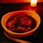 焼鳥 ブルース - 牛すじのデミグラ煮込み  600円(税別)  中椀くらいの器で出てきます。