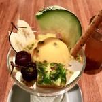 マンゴツリーカフェ - フチ子サンデーのアップ