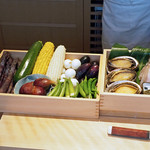 88990538 - 本日の天ぷら食材