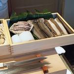 88990546 - 本日の天ぷら食材