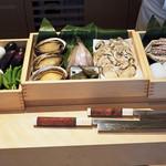 88990556 - 本日の天ぷら食材