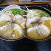 ふぁんふぁん - 料理写真:ハーフ&ハーフ(醤油+みそ)