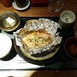 赤坂かこい - 週替わり定食:若鶏のちゃんちゃん焼き全景