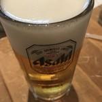 88992619 - まずは ビール!