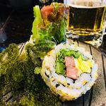 琉球回転寿司 海來 - 料理写真:ちゅらさんロール480円