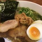 麺屋M - 料理写真:味玉海薫るそば
