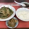 虎 - 料理写真:ニラ炒め定食