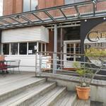 Cafe de Brique - 入り口