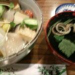 こみや寿司 - さざなみ丼