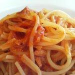 890298 - ツナのトマトソーススパゲッティ