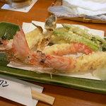 港キリン - 宝彩海老天ぷら盛合せ