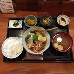 つるかめ - 料理写真:白甘鯛と生麩の揚げ出し  ¥1000