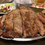 メキシコビーフ鉄板食堂 アプレシオ - リブロースステーキ 200g