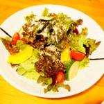 鉄板焼とワイン×日本酒 COCOLO - サラダ