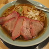 chuukasobabakuman - 料理写真:中華そば750円+大盛り100円+チャーシューちょい増し150円