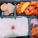 タイム - ♦︎唐揚げ弁当 520円