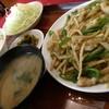 生駒軒 - 料理写真:榨菜肉丝!