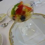プティ・カザリス - 2018年4月のフレンチ フレッシュフルーツサラダ