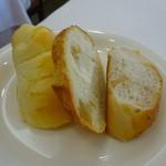 プティ・カザリス - 2018年4月のフレンチ 自家製パン
