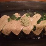 和酒と旬菜なごみ料理 日月 - おろし加賀蓮根の出し巻き玉子