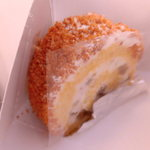 プレ・ドゥ・ラ・リヴィエール - 料理写真:栗のロールケーキ