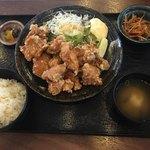 TOKYO都庁議事堂レストラン - 鶏の唐揚げ定食(10個に増量)