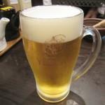地蔵 - 生ビール