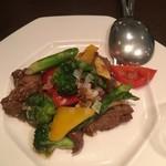 Chuugokusenkashanrin - 牛肉と野菜炒め