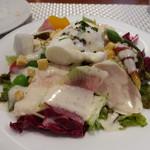ビストロ ダイア - 三河地鶏胸肉のポッシェのサラダ