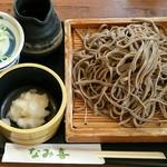 板そば なみ喜 - 料理写真:辛味ざる