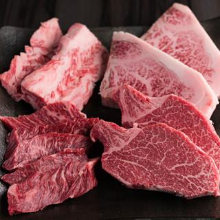 希少部位など、肉の旨みをあますことなく堪能