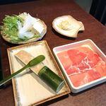89016165 - 野菜、鳥コラーゲンつみれ、卵麺、ライス