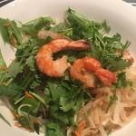 ベトナム料理 インドシナ - 汁無し麺2:混ぜた後