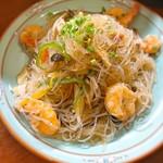 サバス - 海老のナンプラー炒め