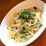 サバス - ワサビ菜のペペロンチーノ