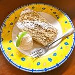 サバス - レモンと紅茶のチーズケーキ