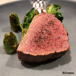 リナシメント - キアナ牛のランプ肉のビステッカ