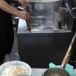 博多ラーメン ばりこて - 麺