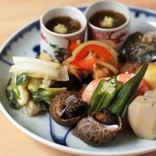 時季のおばんざいと和食