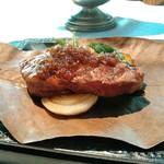 合掌レストラン 大蔵 - 黒毛和牛ステーキ