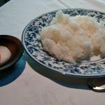 合掌レストラン 大蔵 - 釜炊き新潟産コシヒカリ