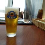 海上楼 - ドリンク写真:生ビール(580円)