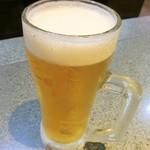 あみやき亭 - 一番搾り生ビール