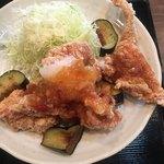 南蛮食堂 - ☆★甘酢おろしの(´∀`*)鶏から茄子★☆