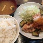 南蛮食堂 - ☆★甘酢おろしの(´∀`*)鶏から定食★☆