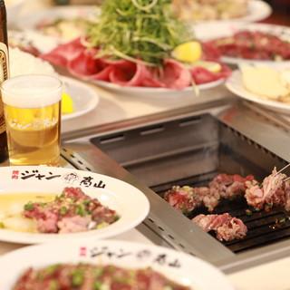 ~ワイワイ焼肉宴会~飲み放題込のセット料理もご用意してます!