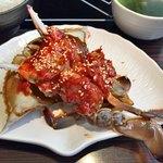 プロカンジャンケジャン - ●ヤンニョムケジャン・セット ・辛口ワタリガニの醤油漬け(生)1杯