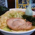 さつまっこ  - キャベツらーめん(麺固め)アップ