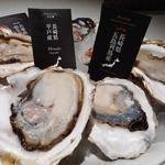 ガンボ&オイスターバー - 岩牡蠣4ピース2160円