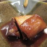 黒毛和牛専門店 肉屋 文月 - 「ラフティ」(¥350)